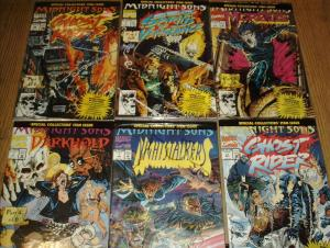 RISE OF THE MIDNIGHT SONS (MARVEL) PARTS 1-6 COMPLETE!