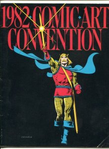 1982 Comic art Convention Program Book-Phil Seuling-BrianBolland-Jim Shooter-...