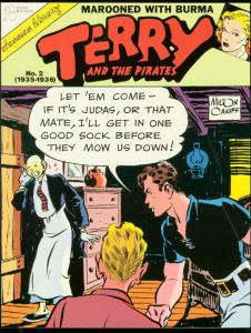 TERRY AND THE PIRATE #2-1990-MILTON CANIFF-TPB-BURMA VG