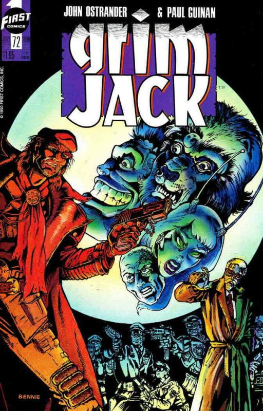 Grimjack #72 VF/NM; First | save on shipping - details inside