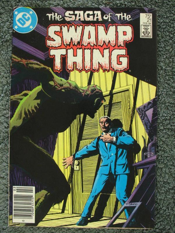 The Saga of Swamp Thing Comic Book #4 DC Comics 1982 FINE