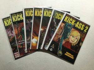 Kick-Ass 2 1-7 1 2 3 4 5 6 7 Lot Run Set Near Mint Nm Icon