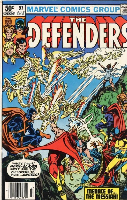 DEFENDERS #97, VF/NM, Dr Strange, Valkyrie, Slayer,1972 1981, Son of Satan, upc
