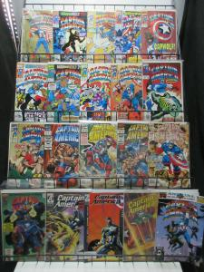 Captain America (Marvel 1991-2003) Lot of 38Diff Man-Wolf to Knights!