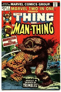MARVEL TWO-IN-ONE #1 1973 THING MAN-THING First issue