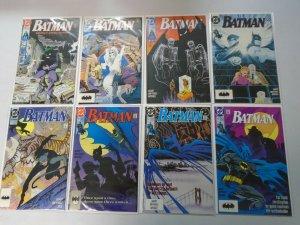 Batman comic lot 23 different from #450-499 avg 8.0 VF (1990-93)