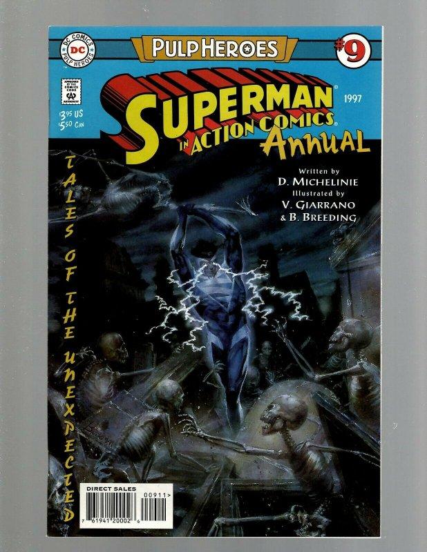 Lot of 13 Superman Annual DC Comic Books #1 2 3 4 5 6 7 8 9 10 11 12 13 GK44