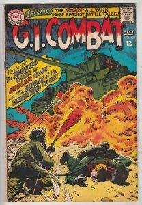 G.I. Combat #128 (Mar-68) FN/VF+ High-Grade The Haunted Tank