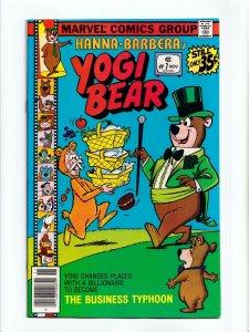 Yogi Bear #7 Hanna Barbera Marvel Comics 1978 VF