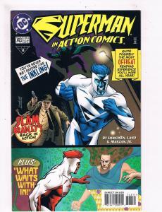 Superman In Action Comics # 743 VF/NM Dc Comic Books Justice League Batman! SW11