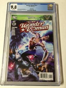Wonder Woman 611 Cgc 9.8 Rare Variant