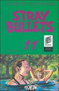 El Capitan STRAY BULLETS #1 VF/NM