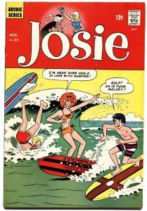 JOSIE #21 1966-MLJ/ARCHIE-SURFING COVER