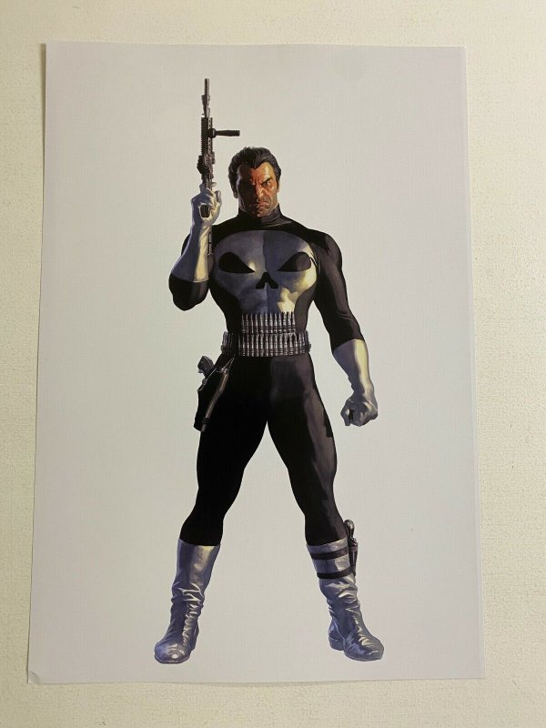 Punisher Marvel Comics poster by Alex Ross