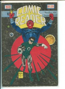 COMIC READER (1961 STREET) FANZINE #175 F+ A12097