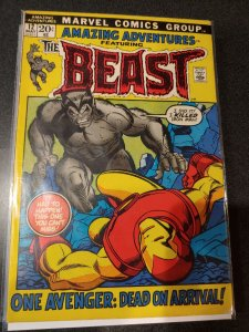 AMAZING ADVENTURES #12 BEAST/IRON MAN