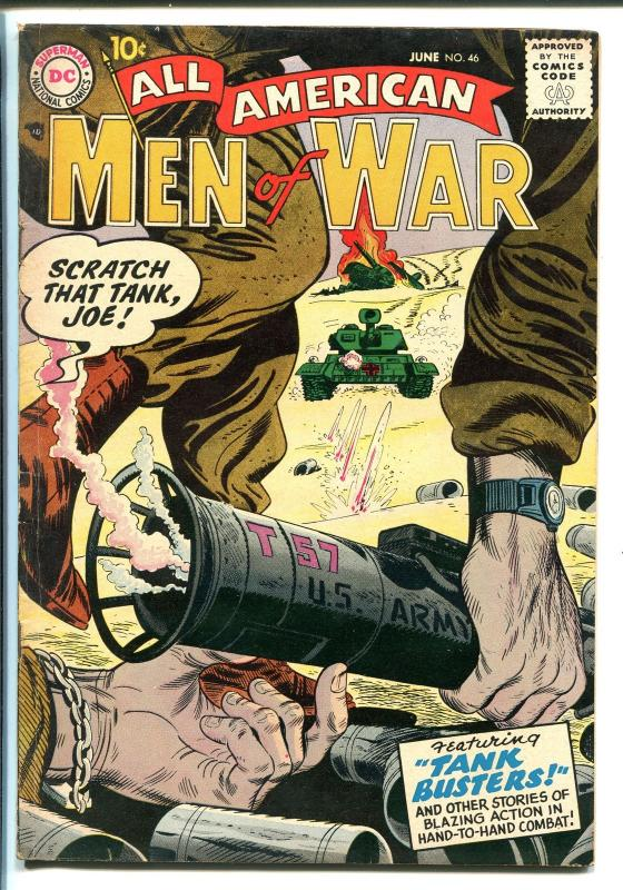 All american men of war 46 1957 dc wwii tank busters fn hipcomic all american men of war 46 1957 dc wwii tank publicscrutiny Image collections