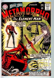 BRAVE AND THE BOLD #58-METAMORPHO THE ELEMENT MAN-1965-SILVER AGE DC-  G-