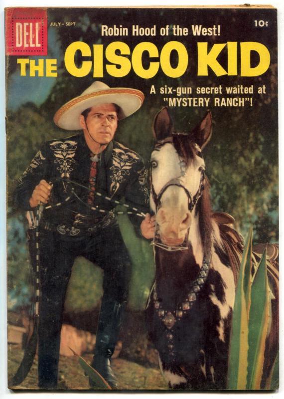 Cisco Kid 40 1958 Dell Western Duncan Renaldo VG F