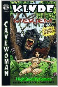 CAVEWOMAN KLYDE & MERIEM #1, NM, Dinosaurs, Budd Root, 2001, more CW's in store
