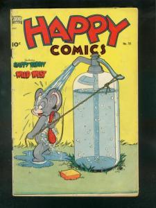 HAPPY COMICS #35 1950-SHOWER COVER-FRAZETTA FR