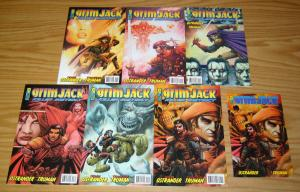 Grimjack: Killer Instinct #1-6 VF/NM complete series + ashcan - tim truman 2005
