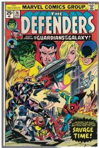 DEFENDERS  26 VG-F  Aug. 1975