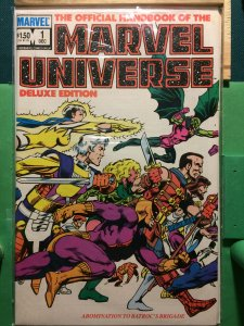 The Official Handbook of the Marvel Universe #1 Deluxe Edition