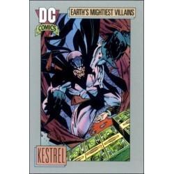1991 DC Cosmic Cards - KESTREL #99