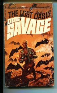 DOC SAVAGE-THE LOST OASIS-#6-ROBESON-G/VG-COVER DOUG ROSA G/VG