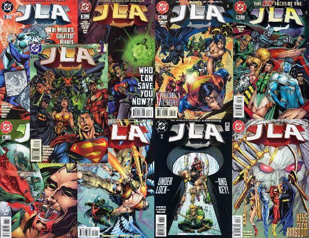 JLA (1997) 1-9  Grant Morrison