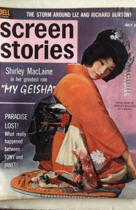 Screen Stories July 1962- Shirley Tony&Janet Liz&Dick! C all my mags! Combine!