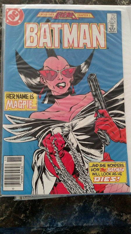 BATMAN #401  (Nov, 1986, DC) NM