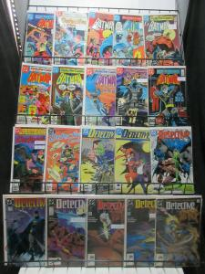 Detective Comics (DC 1981-2010) Mini-Library of 84Diff from #499-872 Thrillers!