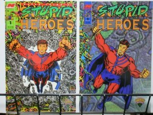 STUPID HEROES (1994 NEXT) 1 (BOTH) Peter Laird