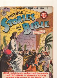 Picture Stories from the Bible: New Testament Edition #2, VG- (Actual scan)