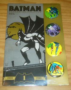 Batman Button Collection #1 sealed - unopened - joker - robin 1989 set
