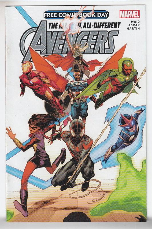 All New All Different Avengers Unstamped NM- FCBD