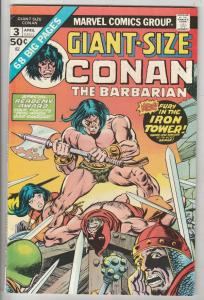 Giant-Size Conan #3 (Apr-75) VF/NM High-Grade Conan