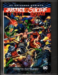 Justice League Vs. Suicide Squad SEALED DC Graphic Novel Comic Book Batman J297