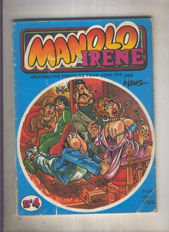 Manolo e Irene numero 4 (numerado 2 en trasera)