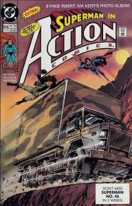 Action Comics #655 VF/NM; DC | save on shipping - details inside