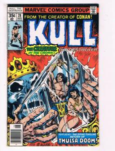 Kull # 28 VF Marvel Comic Book Conan Red Sonja Canning PEDIGREE Collection D19