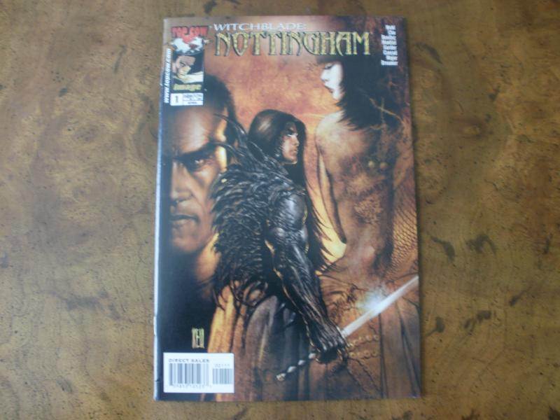 Witchblade: Nottingham #1 (Top Cow / image) April 2003