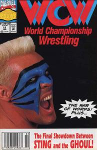 WCW World Championship Wrestling #11 (Newsstand) FN; Marvel   save on shipping -