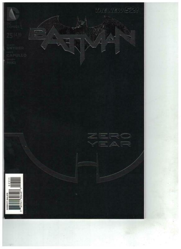 BATMAN (2011 NEW 52) 25 Capullo, Scott Snyder VF-NM