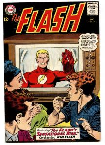 FLASH #149 1964-TELEVISION COVER-DC COMICS KID FLASH VF