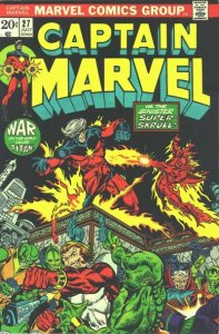Captain Marvel #27 (ungraded) stock photo / SMC