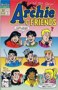 Archie and Friends #9 ORIGINAL Vintage 1993 Archie Comics