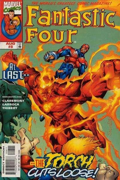Fantastic Four (1998 series) #8, NM (Stock photo)